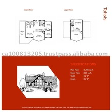 Tahsis Stock Prefab House