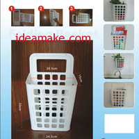 folding debris hanging basket as seen on tv 2013 new arrival products retractable basket