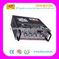 Optical audio amplificador 100w rms com fm suporte cd/dvd/vcd