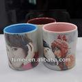 Top venda promocional DIY color revestimento caneca para impressão por sublimação