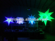 Decoration Inflatable Star with LED Light