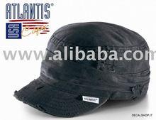 URBAN BROKEN BLACK CAP ARMY FASHION