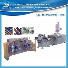 9-45mm PE single wall corrugated pipe making machinery