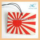 Hanging custom shape perfume cotton paper air freshener