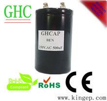 Aluminum electrolytic capacitors 250v AC 500uf