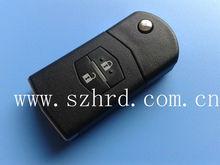Mazda 2 flip remote key 433Mhz key blank