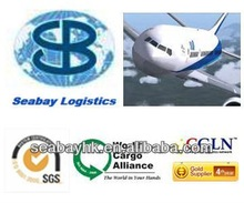 Cheap air freight/service/rate/forwarder/agent from Haikou, Tianjin, Dalian, Foshan to Surabaya