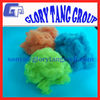 100 pet bottles recycle polyester staple fiber, dope dyed staple polyester fiber