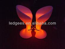led lighting bar chair/led chair for bar