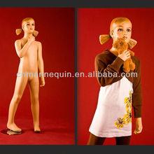 Fiberglass full body kids underwear models