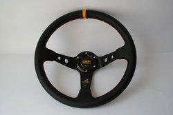Racing Steering Wheel OMP Corsica - PVC rally, drift, race