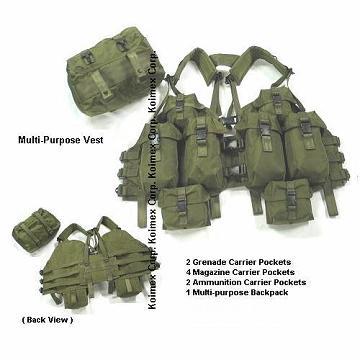 Средства за физичка заштита - (панцири,тактички елеци,шлемови...) Multi_Purpose_Tactical_Vest