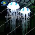 Animal replicar gleamy inflável jellyfish/mar animal