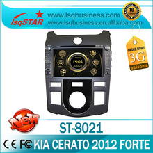 LSQ Star Manufacturer 7inch 2012 Kia Cerato/ Shuma/ Forte Car DVD with GPS Navigation bluetooth radio ipod SWC manual/auto ac