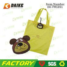 OEM Canvas Folding Dog Shape Shopping Bag DK-FM1051
