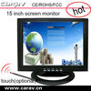 "15"" elo touch screen lcd monitor with 1VGA ,2audio.1av input"