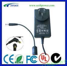 led driver 1000ma EU US AU UK EK pass UL.KC.FCC.SAA.for LED monitor,POS,CCTV camera