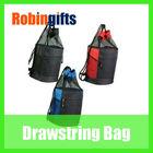 Fashion wholesale mesh top zipper style drawstring bag