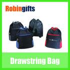 Fashion promotional side pocket backpack drawstring bag