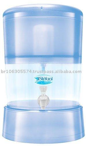 Filtro de água stefani cristais de água do filtro 8 litros