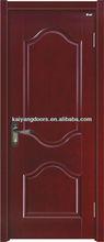 Kaiyang interior solid meranti/oak/maple/teak/mahogany/cherry veneer wooden painting design door