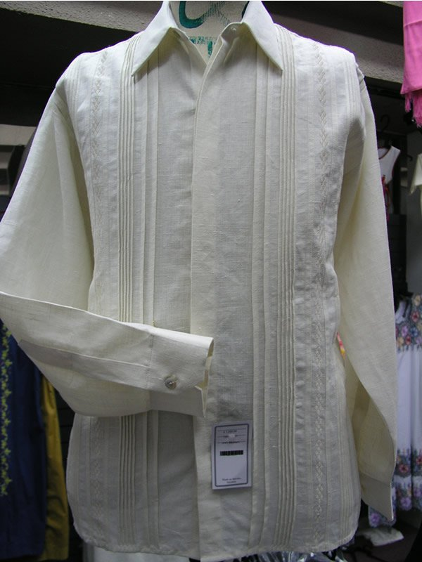 Authentic Mexican Wedding Style Guayabera