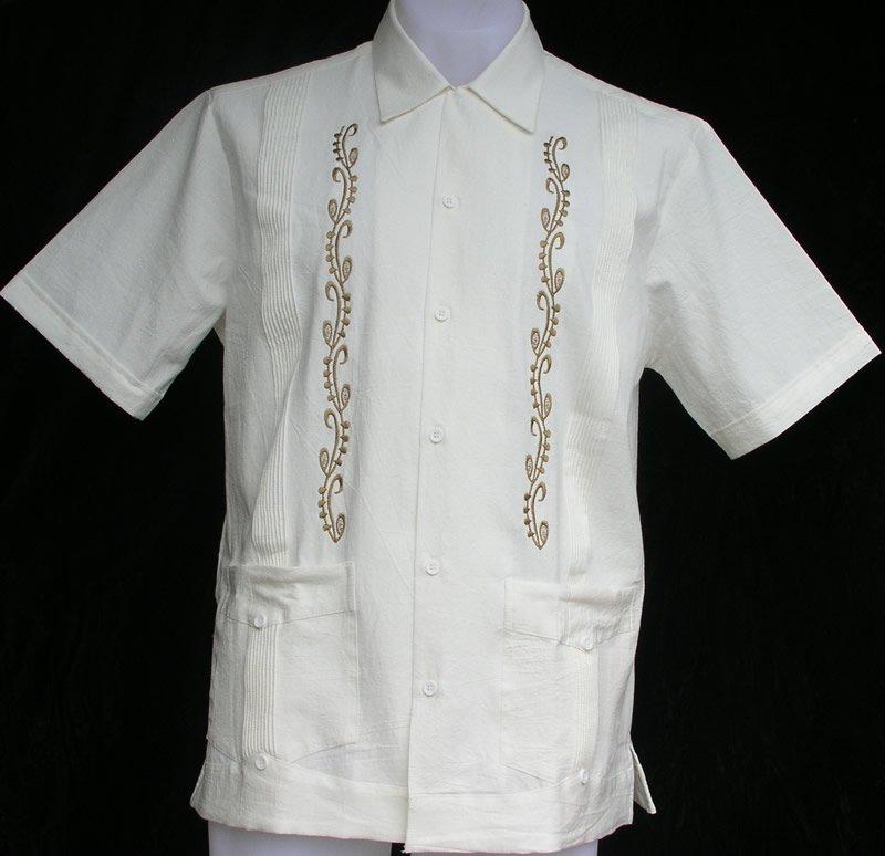 Guayabera Camisa de estilo caribeño