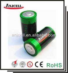 industrial use er26500 9000mah 3.6v c size tadiran 3.6v lithium battery