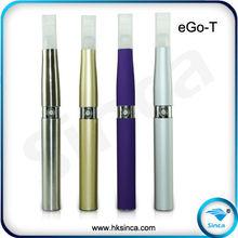 evapor cigarette colorful eGo-T Tank style eletronic cigarette