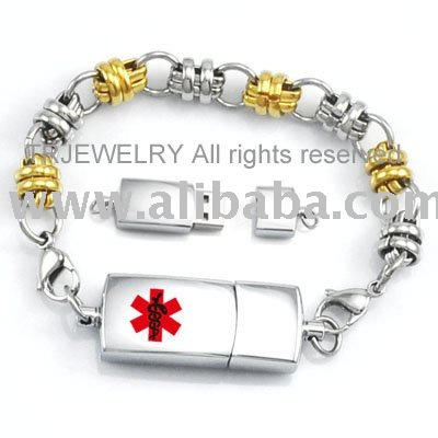 Medical Alert Bracelets  Necklaces Men · WELLalarm™