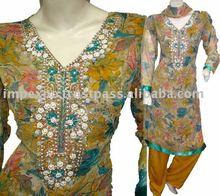 Ladies Fashion wear A-Line Shalwar Kameez(Item No.IMPEXPOALINE768)