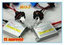 Hottest Sale! 2013 Defeilang real factory best price auto HID xenon converse kit single beam H13-2 DC/AC 35W 55W 12v 24v