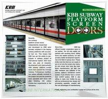 Subway Platform Screen Door