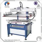 Small flat silk screen printing machine