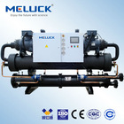 Low temperature water cooled screw chiller for industrial reaction kettle cooling