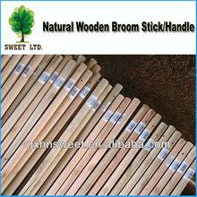 Wooden handle for broom