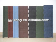 sand coated roof tile 0.40mm thickness