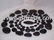 Hot Stone Basalt Massage Stones Expert set 57 Pcs.