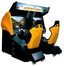 BATTLE GEAR 3 TWIN SIT DOWN ORIGINAL RACING MACHINE
