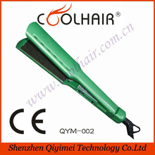 New coming coin operated hair straightener,titanium tools hair straightener,name brand hair straightener