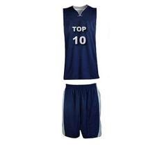 custom sublimated blue youth basketball jerseys wholesale