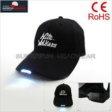 professional producing custom LED lights hats