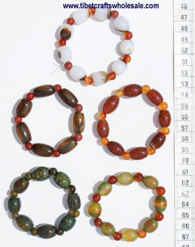 glass bead bracelets tibetan jewelry wholesale costume