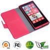 Wallet leather flip case for Nokia Lumia 900