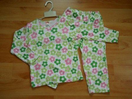 Pignon - 2 pcs set filles vêtements de nuit taille 2 t, 3 t, 4 t, 5 t, 6 T