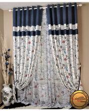 Silk Taffeta Curtain