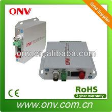 ONVDT/R1V-S 1 Channel Video Fiber Optical Transmitter and Receiver with 20KM transmission distance