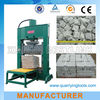 hydraulic stone splitter machine for natural stone