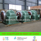 water wheel generator for hydro power plant