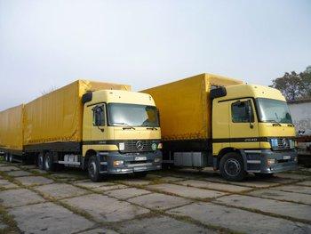 Mercedes Actros 2540 + trailer